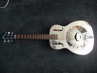Recording King D998M bell brass resonator guitar