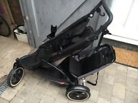 Phil and teds double pram e3 model