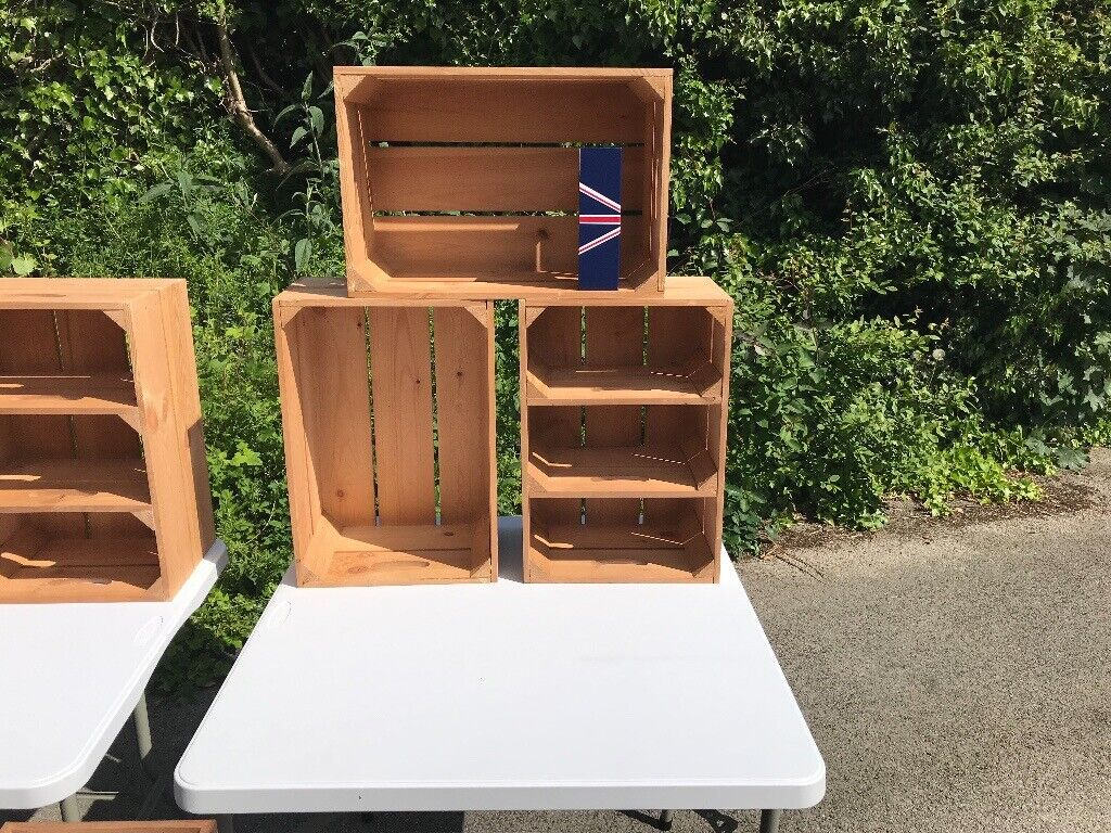 Quality Folding Trestle Tables Wooden Display Boxes Trolleys Can Split Items For Sale In Southwell Nottinghamshire Gumtree