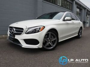 2016 Mercedes-Benz C-Class C 300 4MATIC! Loaded! Easy Approvals!
