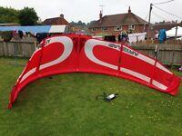 Gaastra GXR kite surf Kite, Bar & Lines