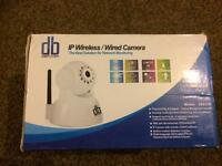 Wireless indoor IP camera - 2 way audio - new in box