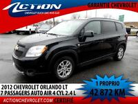 2012 Chevrolet Orlando 1LT 7 PASS. AUTO AIR 4 CYL