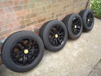 16 x 4 Alloys Wheels and COMMERCIAL tyres Will Fit Renault trafic/vivaro VW T5-T6