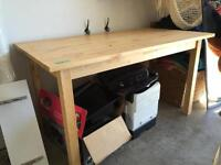 Pine IKEA Table