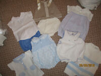 SPANISH/TRADIONAL baby boys suits first size-newborn job lot 7 outfits!!