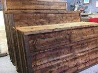 💦New Brown Wayneylap Fence Panels > Excellent Quality < New > Pressure Treated