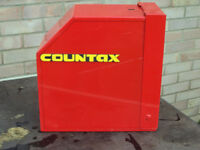 Countax Ride on mower anti-theft wheel clamp lock with 2 keys