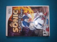 Wii Game - Sonic and the Secret Rings IP1