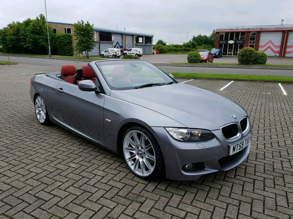 bmw 320d m sport convertible 2010 auto in wellingborough northamptonshire gumtree. Black Bedroom Furniture Sets. Home Design Ideas