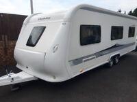 Hobby Caravan 650 Prestige (2012) Premium Model Interior. Like Tabbert/fendt