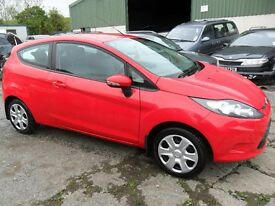 ford fiesta 1.2 3 door red with full years mot