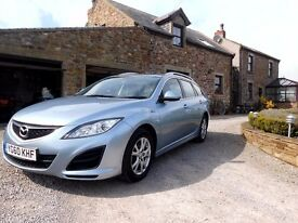 mazda 6 estate car. service history. m.o.t. november 2017