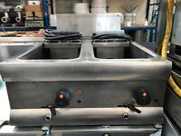 Commercial Lincat Electric Double Deep Fat Fryer Catering Equipment