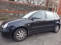 Volkswagen Polo 1.4 5dr 2002 IDEAL FIRST CAR Mint CONDITION CHEAP INSURANCE FULL SERVICE HIS