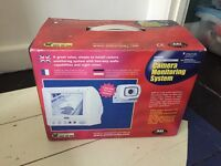 Internal camera monitoring system with monitor