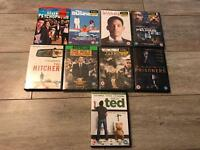 Bundle 9x new sealed DVDS MOVIES FILMS Ted, The Business, Wolf on Wall Street, Jarhead Danny Dyer