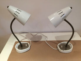 A matching pair of retro lamps by Pifco from the mid-60s