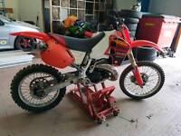 Honda cr 500 not kx yz rm 125 250