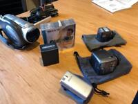 Sony Handycam with lots of accessories