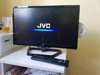 "21"" TV with DVD player"