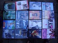 Variety of DVDs, excellent condition, a box full