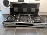 2 x pioneer cdj 1000 MK3 & djm 600 in flight case