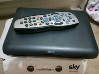 Sky hd multiroom box with remote
