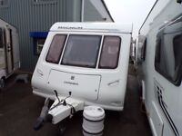 COMPASS MAGNUM 6 BERTH TWIN AXLE WITH AIR CON AT CARAVAN SALES (LIVERPOOL) PX AND FINANCE £6995
