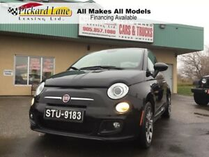 2014 Fiat 500 Sport $71.20 BI WEEKLY! $0 DOWN! CERTIFIED!