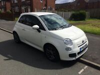 Fiat 500 S 2013/63 sports model low mileage 1.2 petrol fully loaded bargain cat d