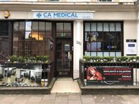 Administrator/Receptionist wanted for a private medical clinic in Kings Cross