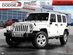 2014 Jeep Wrangler Unlimited UNLIMITED SAHARA|4DOOR|MASTER SHIEL