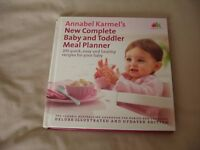 Annabel Karmel Baby and Toddler Meal Planner Book