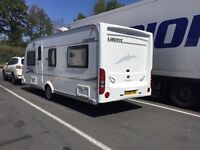 Elddis Liberte 19/4 Caravan 2008 - Very Good Condition with all accessories including 2 awnings