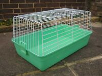 """SMALL ANIMAL INDOOR CAGE EXCELLENT CONDITION APPROX 24"""" X 14"""" (GUINEA PIG, HAMSTER ETC)"""