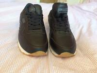 Men's black kappa trainers size 12 new