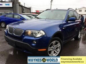 2007 BMW X3 3.0i ***LEATHER & SUNROOF***