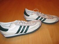 FOR SALE- FALKIRK, SCOTLAND- ADIDAS COUNTRY OG NEW WHITE AND GREEN