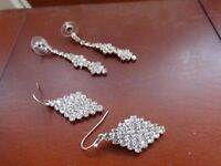 REDUCED-Formal Evening? 2 Pairs of Gorgeous earrings from Debenhams.