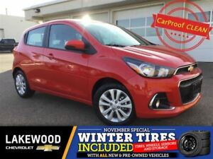 2017 Chevrolet Spark 1LT CVT (Colroed Touch Screen, Back Up Cam)