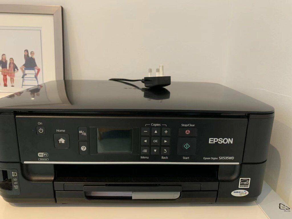 EPSON PRINTER SX535WD (LOOK LIKE A NEW BUT NOT PRINTING) | in Kingston,  London | Gumtree