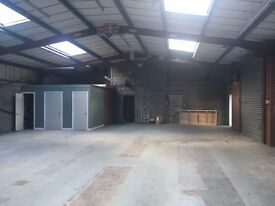 Two small commercial units for rent in Ellesmere Port Industrial Estate 1,000-2,000 sq.ft.