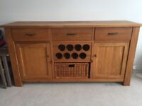 Solid Oak Barker and Stonehouse Sideboard Great Condition