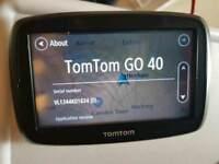 TomTom go 40 europe maps GPS Sat nav