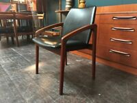 Super Cool Danish Desk Chair. Retro Vintage Mid Century