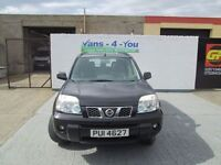 2005 nissan x trail in black £2550 drives like new belfast derry vans-4-you.co.u k