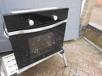 cooke & lewis single oven, with grill
