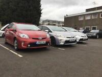 Pco Toyota Prius for rent only £125 a week Uber ready