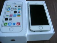 iPhone 5s 16gb boxed white